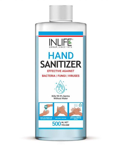 INLIFE 70% Alcohol Based Hand Sanitizer 500ml