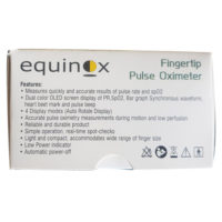 Equinox Fingertip Pulse Oximeter