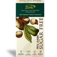 Belgian Couverture Chocolate with Organic Turkish Hazelnuts