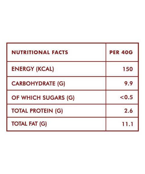 Classic-Stevia-Chocolate-40-gm-Nutritional-Information