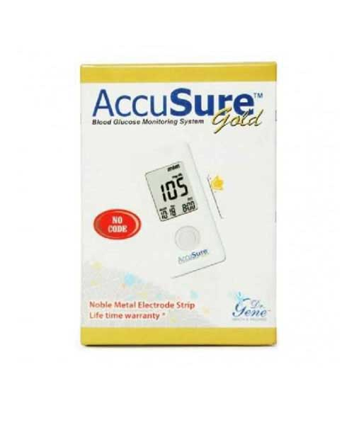AccuSure-Gold-Glucose-Monitor