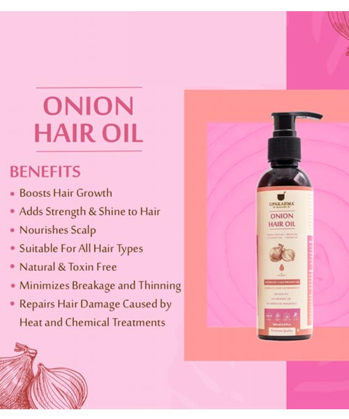Upkarma Onion Hair Oil