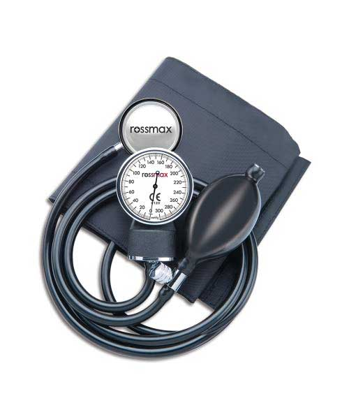 Rossmax-Sphygmomometer-Aneroid-Type-With-Stethoscope-(GB102)