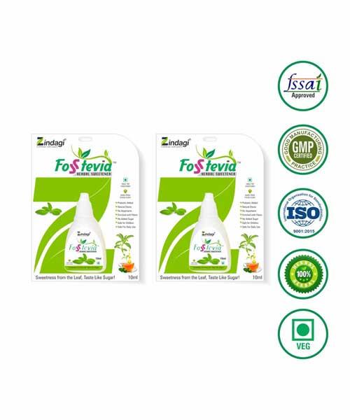 Zindagi-Fosstevia-Liquid-(10ml)---Natural-Sweetners-of-Stevia---Diabetic-Care-(-Pack-of-2)