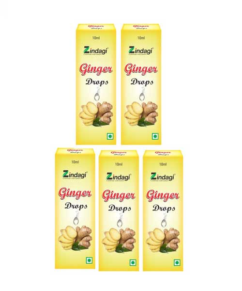 Zindagi-Ginger-drops-(10ml)---Cooking-And-Baking-(-Pack-of-5)