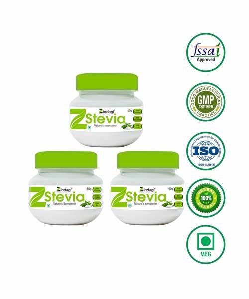 Zindagi-Stevia-White-Powder---Natural-Sweetners---Sugar-free-(50-gm)---(Pack-of-3)