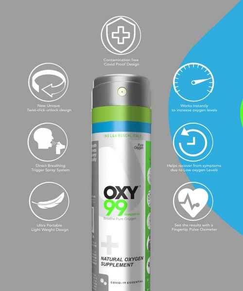 Oxy99 Immunity plus Oxygen Can
