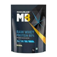 Muscleblaze Raw Whey Protein 80% UN Flavoured