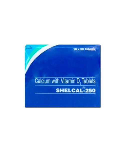 Shelcal-250-Tablet