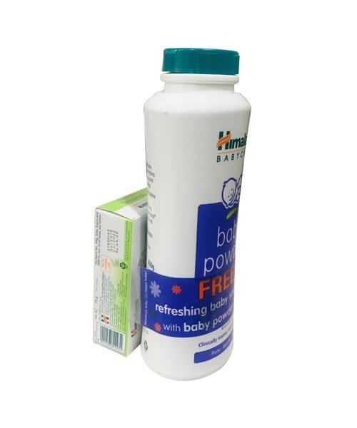 Himalaya-Baby-Powder-200g-(Free-Himalaya-Refreshing-Baby-Soap-75g)-1