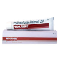 Wokadine ointment 10% 15 gm
