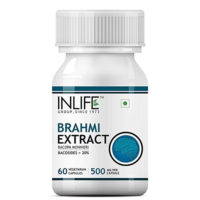 Inlife Brahmi (Bacopa Monnieri Extract) Supplement