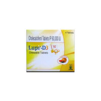 lupi d3 chewable tabs 4's