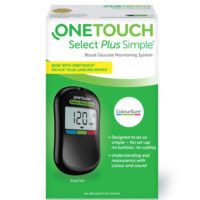 OneTouch Select Simple Glucometer Device