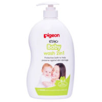 Pigeon Baby Wash 2 in 1 Sakura