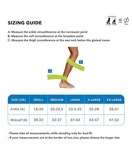 Sorgen-Below-Knee-Anti-Embolism-DVT-Stockings,-(Small),-White,-1-Pair-4