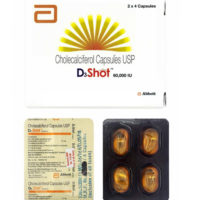 D3 Shot Softgel Capsule 60 K