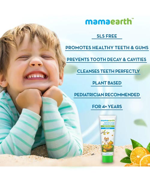 Mamaearth-Sulfate-Free-Awesome-Orange-Toothpaste-For-Kids,-With-Fluoride-1