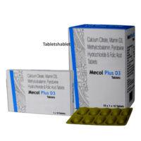 mecol plus d3 tablets 10's